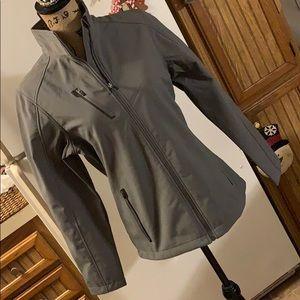 Port Authority fleece lined jacket size medium